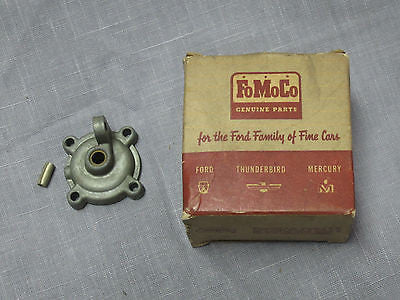 1958 Ford carburetor accelerator pump cover all with V8 B8A-9528-A - Andrew's Automotive Archaeology