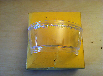 1967-1970 Ford license plate illuminator lamp lens - Andrew's Automotive Archaeology