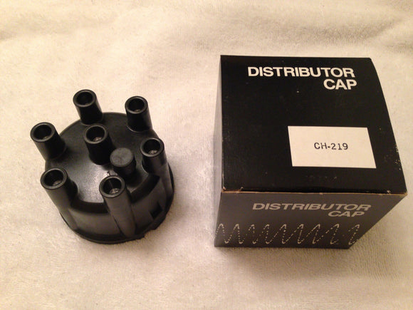 1960-1993 Dodge Chrysler Plymouth Slant 6 distributor cap NEW - Andrew's Automotive Archaeology