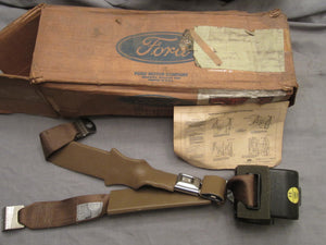 1986 Ford seat belt RH super cab with bench seat E6TZ-18611A72-F - Andrew's Automotive Archaeology