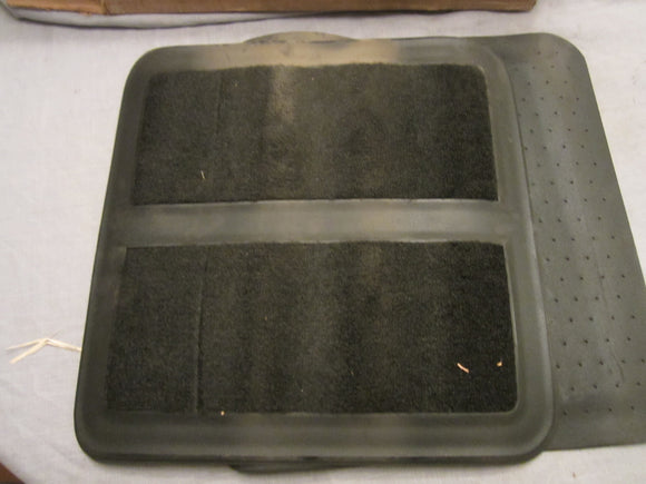 1977 Ford LTD black floor mat kit D7AZ-5313106-K - Andrew's Automotive Archaeology