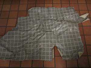 1965 1966 Ford Mustang fastback plaid trunk mat - Andrew's Automotive Archaeology