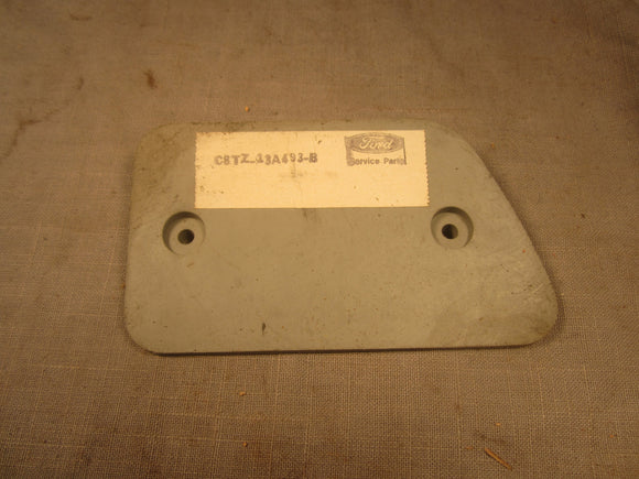 1968-1971 Ford F100 rear reflector mounting pad C8TZ-13A493-C - Andrew's Automotive Archaeology