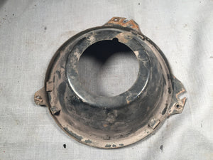 1973 Mercury headlight adjuster bucket LH outside high/low - Andrew's Automotive Archaeology - 1