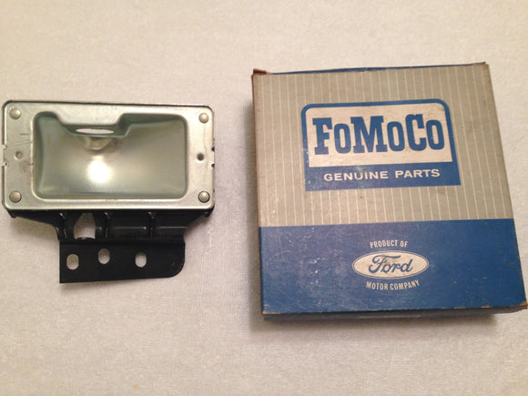 1965 Ford Galaxie LH parking lamp bucket C5AZ-13201-B NOS - Andrew's Automotive Archaeology