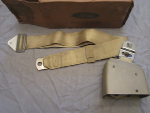 1970 Ford Light Nugget seat belt  DOVB-6561A73-L50Y DOVB-651A72-L50Y - Andrew's Automotive Archaeology