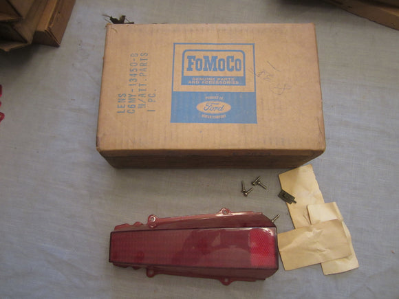 1966 Mercury station wagon tail light lens C6MY-13450-B - Andrew's Automotive Archaeology