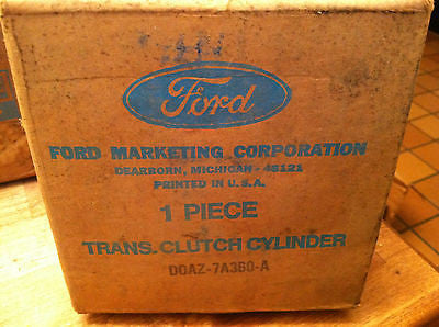 1969-1972 Ford Galaxie LTD XL  D0AZ-7A360-A Transmission Clutch Cylinder - Andrew's Automotive Archaeology