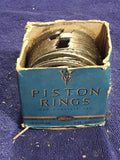 1932-1942 Ford flathead 90 HP 221 V8 piston rings .030 18-6149-DR NOS - Andrew's Automotive Archaeology