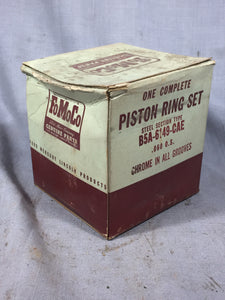 1954-1955 Ford 239 y-block piston ring set .060 B5A-6149-CAE NOS - Andrew's Automotive Archaeology