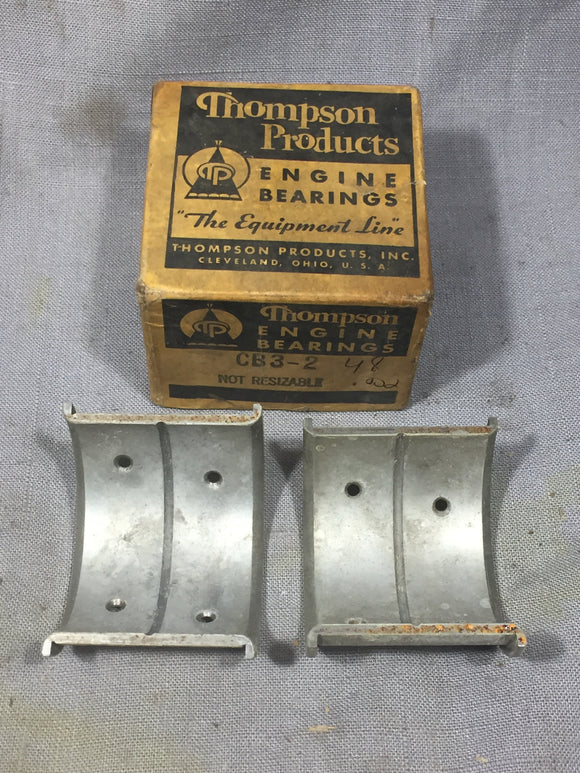 1932-1938 Ford 90 HP flathead rod bearing .002 48-6211-X NORS - Andrew's Automotive Archaeology
