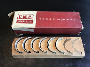 1939-1942 Ford flathead 221 90HP rod bearings .020 81A-6211-M6 NOS - Andrew's Automotive Archaeology
