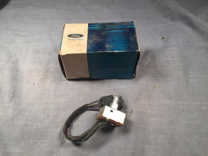1969-1970 Ford Galaxie rear window defogger switch C9AZ-18578-B - Andrew's Automotive Archaeology