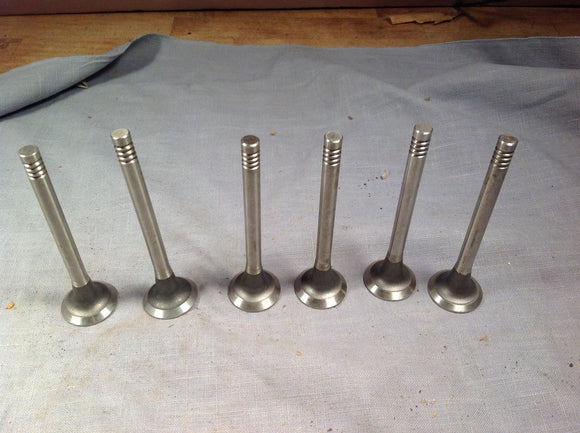1962-1967 Chevrolet Corvair flat 6 145164 exhaust valve set Borg Warner - Andrew's Automotive Archaeology