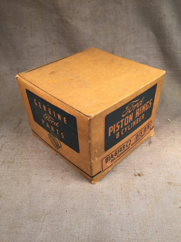 1932-1942 Ford 90 HP flathead expander piston rings .015 81A-6149-C NOS - Andrew's Automotive Archaeology