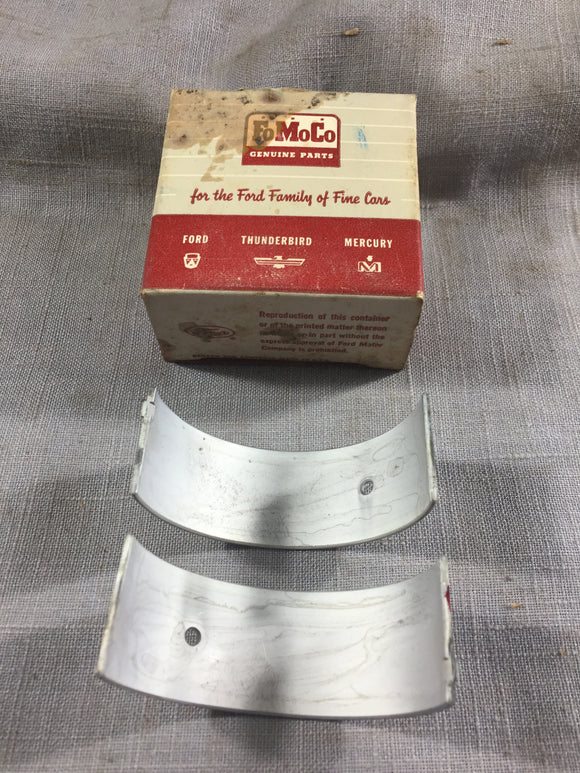 1952-1961 Ford 215 223 L6 rod bearing STD Red EAG-6211-G NOS - Andrew's Automotive Archaeology