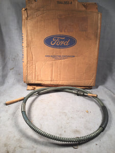 "1953-1956 Ford F-250 with 3HD trans 50"" brake cable TBAA-2853-A NOS - Andrew's Automotive Archaeology"