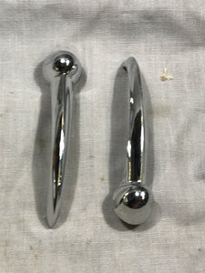 1949-1950 Ford Mercury inside door handles LH RH pair 8A-7022614-B - Andrew's Automotive Archaeology