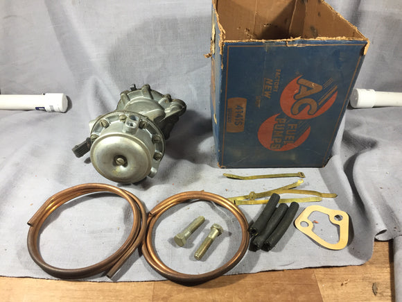 1955-1957 Chevrolet V8 combination fuel and vacuum pump AC 5593259 - Andrew's Automotive Archaeology