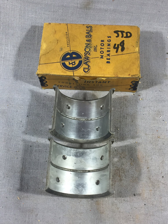 1932-1938 Ford flathead 90 HP V8 rod bearing STD 48-6211-A NORS - Andrew's Automotive Archaeology