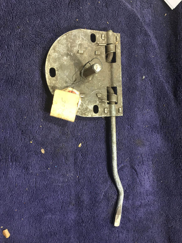 1949 Mercury LH rear door remote latch 8M-7326405 - Andrew's Automotive Archaeology