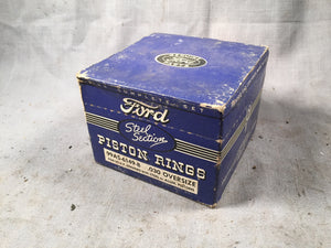 1939-1941 Ford 100 HP piston rings .030 99AS-6149-B NOS - Andrew's Automotive Archaeology