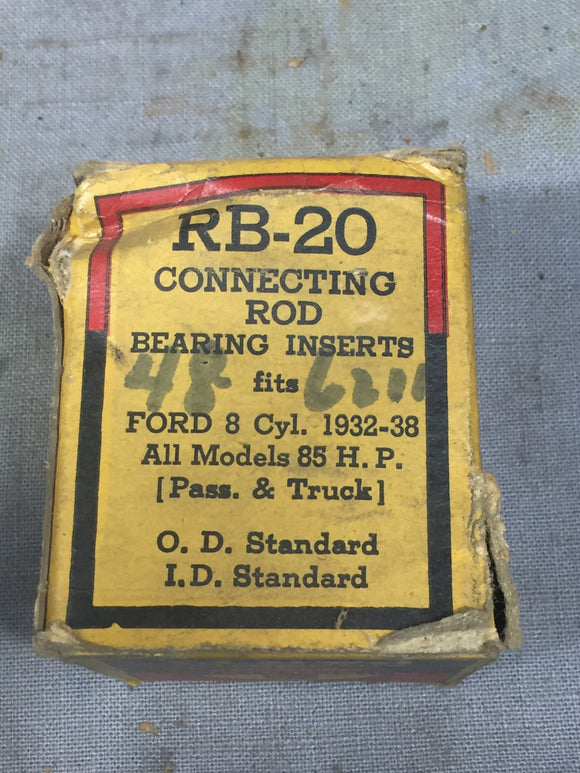 1932-1938 Ford 90 HP flathead rod bearing STD 48-6211-A NORS - Andrew's Automotive Archaeology