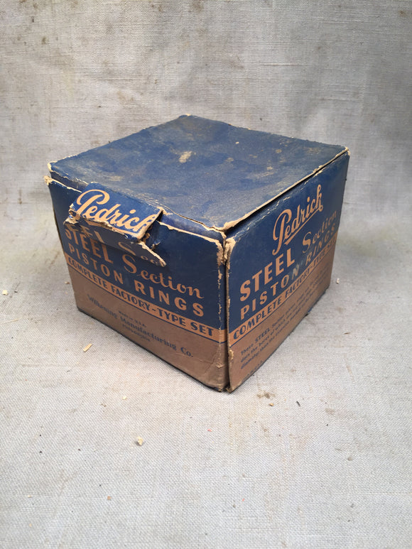 1932-1942 Ford 85-90 HP flathead piston rings alum pistons STD 81A-6149-A NORS P - Andrew's Automotive Archaeology