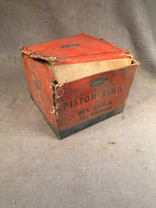 1937-1939 Ford 60 HP flathead piston rings .020 82A-6149-G NOS - Andrew's Automotive Archaeology