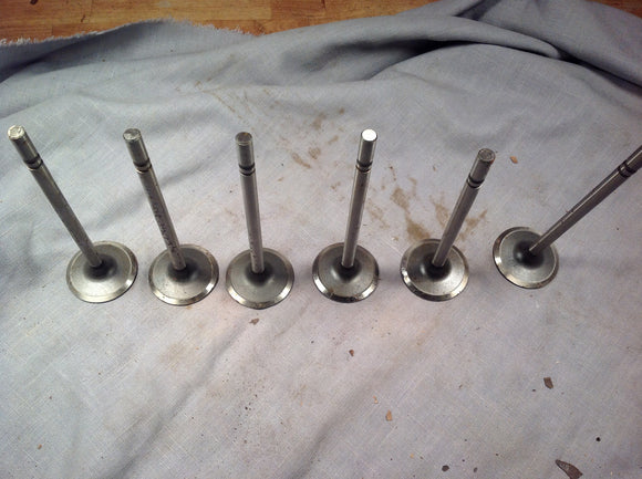 1950-1952 Chevrolet 235 6 cylinder intake valve set 1.94 Thompson Products V1061 - Andrew's Automotive Archaeology - 1