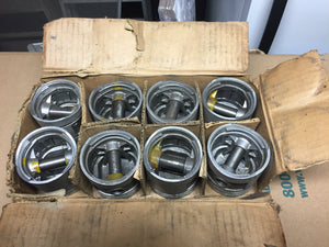 Semi finished 3-groove aluminum domed pistons for 100 HP flathead V8. Sterling b - Andrew's Automotive Archaeology