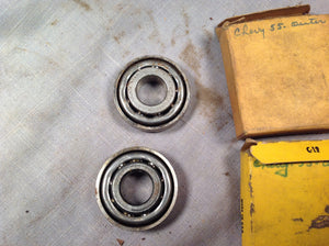1955 Chevrolet outer front wheel bearing pair 909041 B-41 - Andrew's Automotive Archaeology