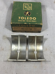 1936-1938 Ford 90 HP flathead front/center main bearing STD/STD 68-6333-A NORS - Andrew's Automotive Archaeology