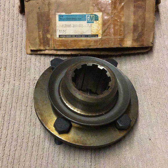 1967-1970 GM Series 60 commercial truck flange 3831822 NOS