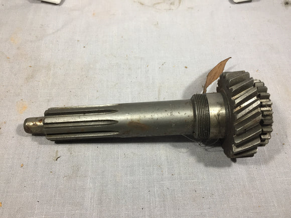 1953-1955 Ford big truck transmission input shaft TYAA-7017-B NOS - Andrew's Automotive Archaeology