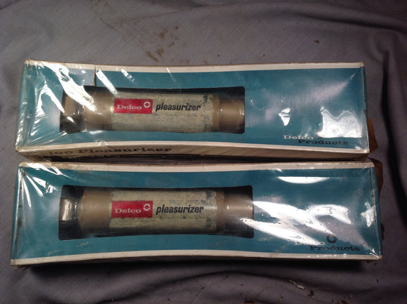 1967-1968 Chevrolet C10 Delco Pleasurizer rear shocks P1119 - Andrew's Automotive Archaeology