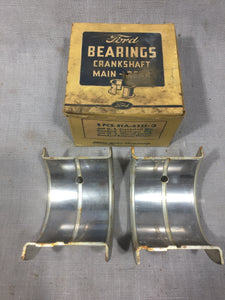 1939-1942 Ford 90 HP flathead rear main bearing .002/STD 81A-6331-Q NOS - Andrew's Automotive Archaeology