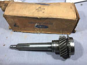 Transmission input shaft 1979 Ford Mustang Fairmont 302 4-speed O/D D9BZ-7017-B - Andrew's Automotive Archaeology