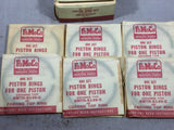 1948-1953 Ford 254 H-series L-6 piston ring set 8MTH-6149-G .020 NOS - Andrew's Automotive Archaeology