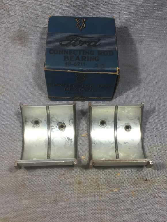 1932-1938 Ford 90 HP flathead rod bearing 48-6211-A2 NOS - Andrew's Automotive Archaeology