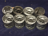 1932-1936 Ford 85-90 HP 221 flathead V8 piston set 40-6110-E .030 NOS - Andrew's Automotive Archaeology