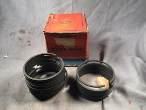 1939-1948 Ford 100 HP flathead piston rings .040 snap 29A-6149-D NOS - Andrew's Automotive Archaeology