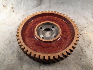 1947-1951 Ford six cylinder fiber camshaft gear .003 7HA-6256 - Andrew's Automotive Archaeology