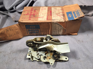 1961 Ford Galaxie RH rear door latch C1AB-5426412 - Andrew's Automotive Archaeology