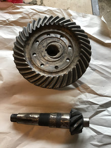 1935-1938 Ford pickup ring and pinion 37-9 4.11 - Andrew's Automotive Archaeology