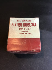 1949-1951 Lincoln 337 flathead piston rings 8EL-6149-F STD NOS - Andrew's Automotive Archaeology