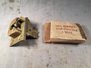 1961 Ford Galaxie  trunk latch assembly C1AZ-5943150-C NOS - Andrew's Automotive Archaeology