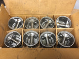 1932-1936 Ford 90 HP flathead .020 3-groove aluminum flat top pistons 40-6108-C - Andrew's Automotive Archaeology