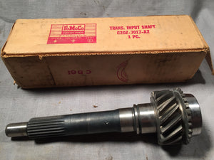 1962 Ford Fairlane 3-speed input shaft 170 and 250 CID C2OZ-7017-A2 - Andrew's Automotive Archaeology - 1