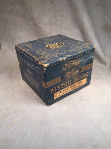 1932-1942 Ford 90 HP flathead steel section piston rings .020 81AS-6149-G NOS - Andrew's Automotive Archaeology